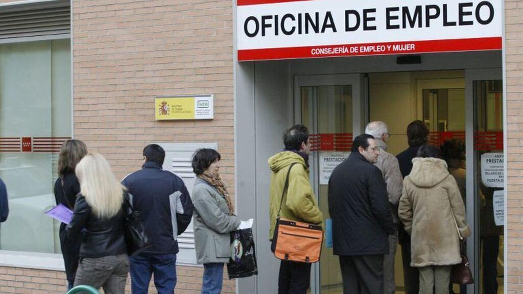 Aumento del 17,3% en el paro de Madrid